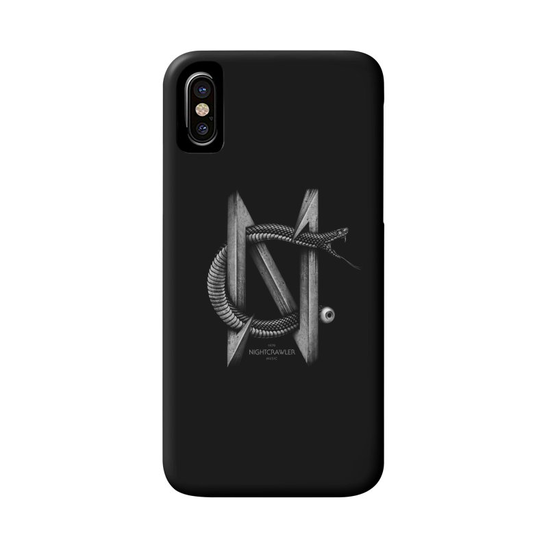 NC- Black Sneak Accessories Phone Case by nightcrawlershop's Artist Shop