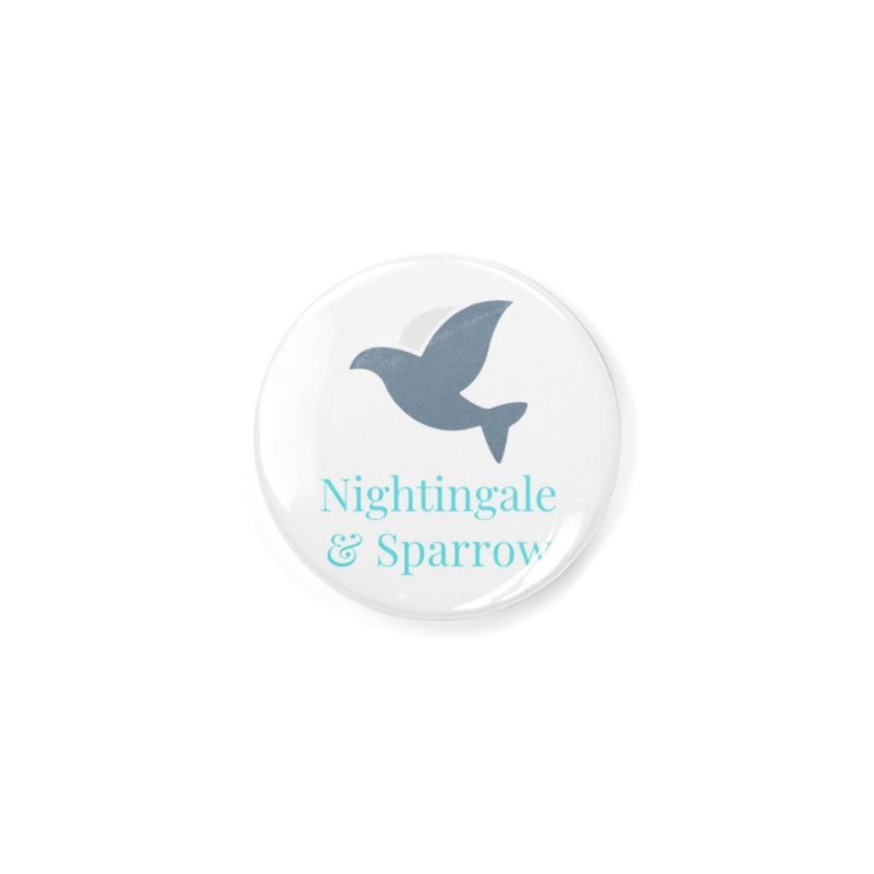 N&S Logo Accessories Button by Nightingale & Sparrow's Artist Shop