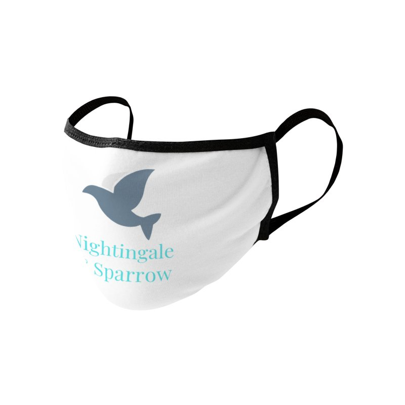 N&S Logo Accessories Face Mask by Nightingale & Sparrow's Artist Shop