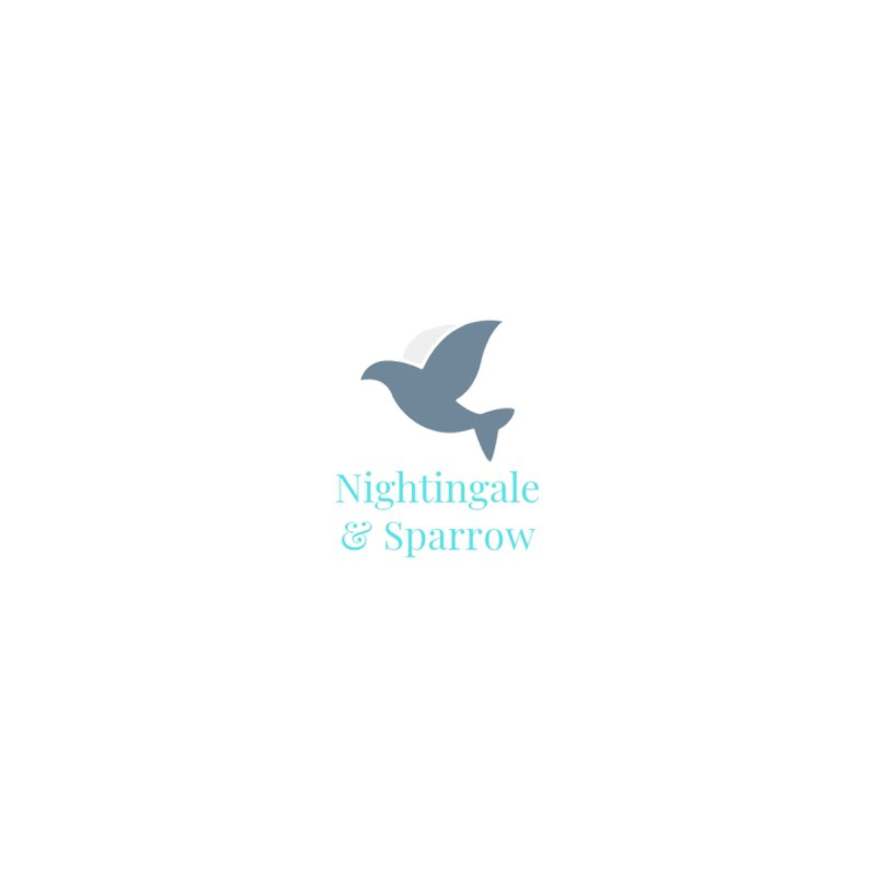 N&S Logo Men's T-Shirt by Nightingale & Sparrow's Artist Shop
