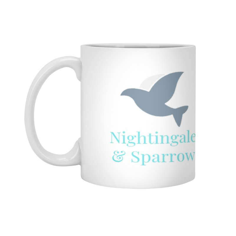 N&S Logo Accessories Mug by Nightingale & Sparrow's Artist Shop