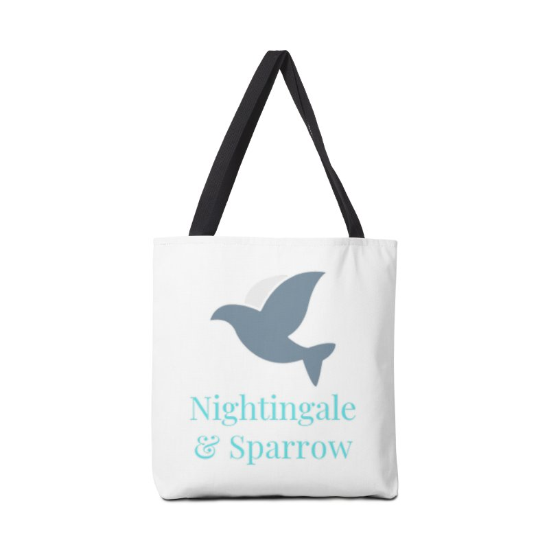N&S Logo Accessories Bag by Nightingale & Sparrow's Artist Shop
