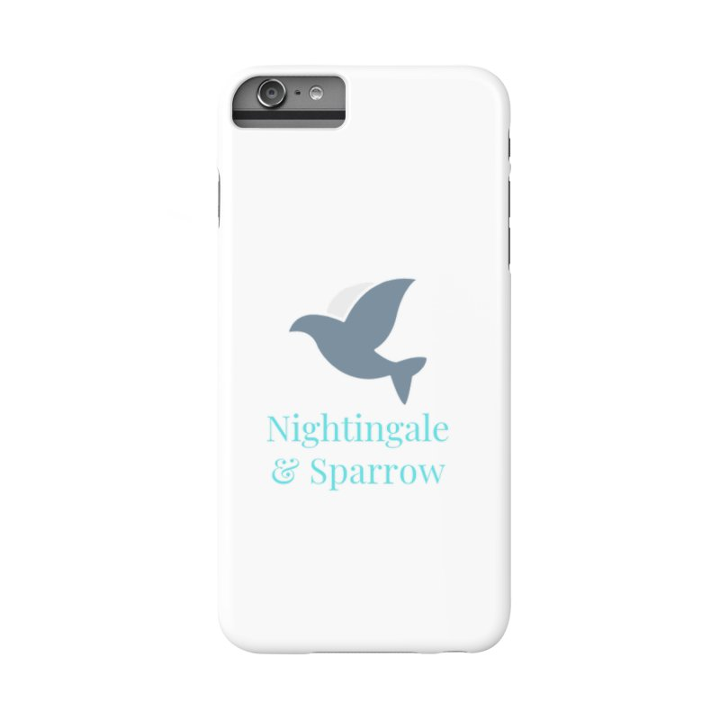 N&S Logo Accessories Phone Case by Nightingale & Sparrow's Artist Shop