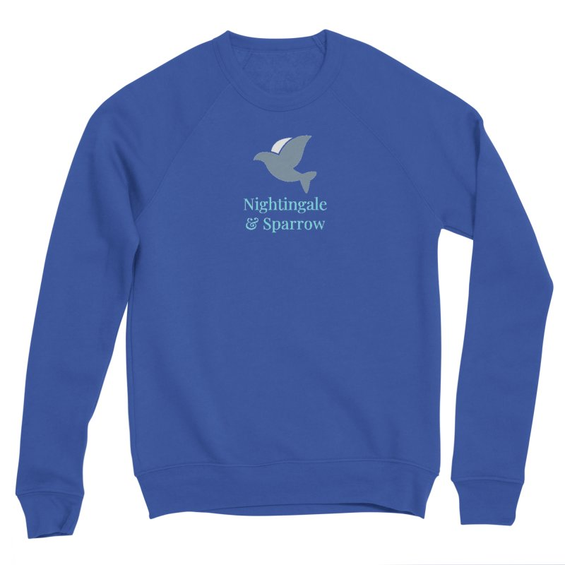 N&S Logo Men's Sweatshirt by Nightingale & Sparrow's Artist Shop