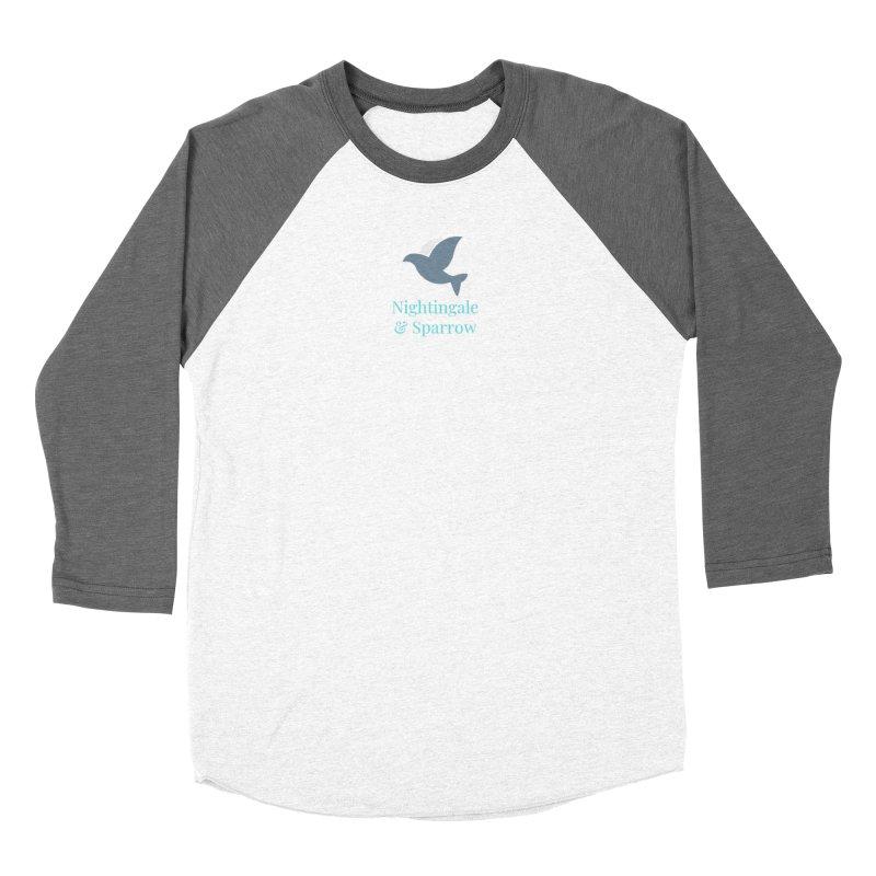 N&S Logo Women's Longsleeve T-Shirt by Nightingale & Sparrow's Artist Shop
