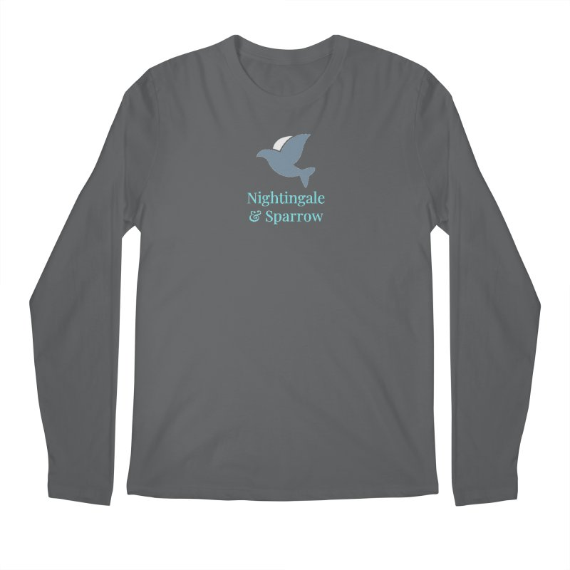N&S Logo Men's Longsleeve T-Shirt by Nightingale & Sparrow's Artist Shop