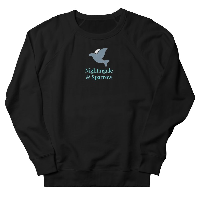 N&S Logo Men's French Terry Sweatshirt by Nightingale & Sparrow's Artist Shop