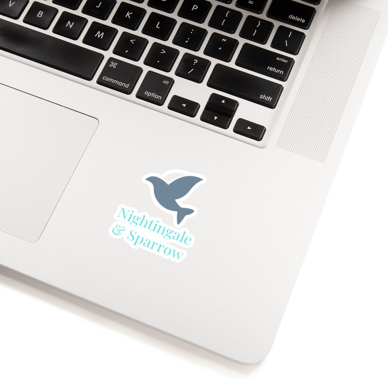 N&S Logo Accessories Sticker by Nightingale & Sparrow's Artist Shop