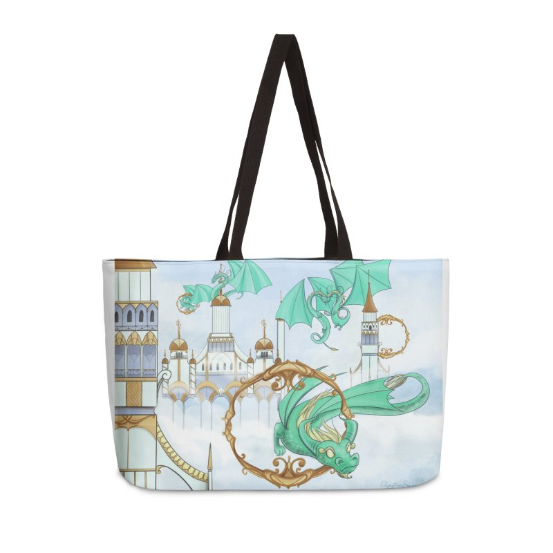 Cloud Dragons Accessories Weekender Bag Bag by Night Shift Comics Shop