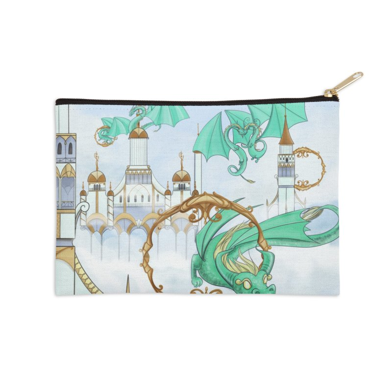 Cloud Dragons Accessories Zip Pouch by Night Shift Comics Shop