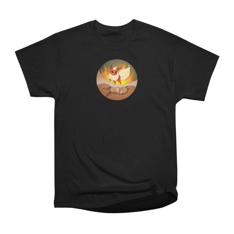 Sweet Dreams: Flareon Men's Heavyweight T-Shirt by Night Shift Comics Shop
