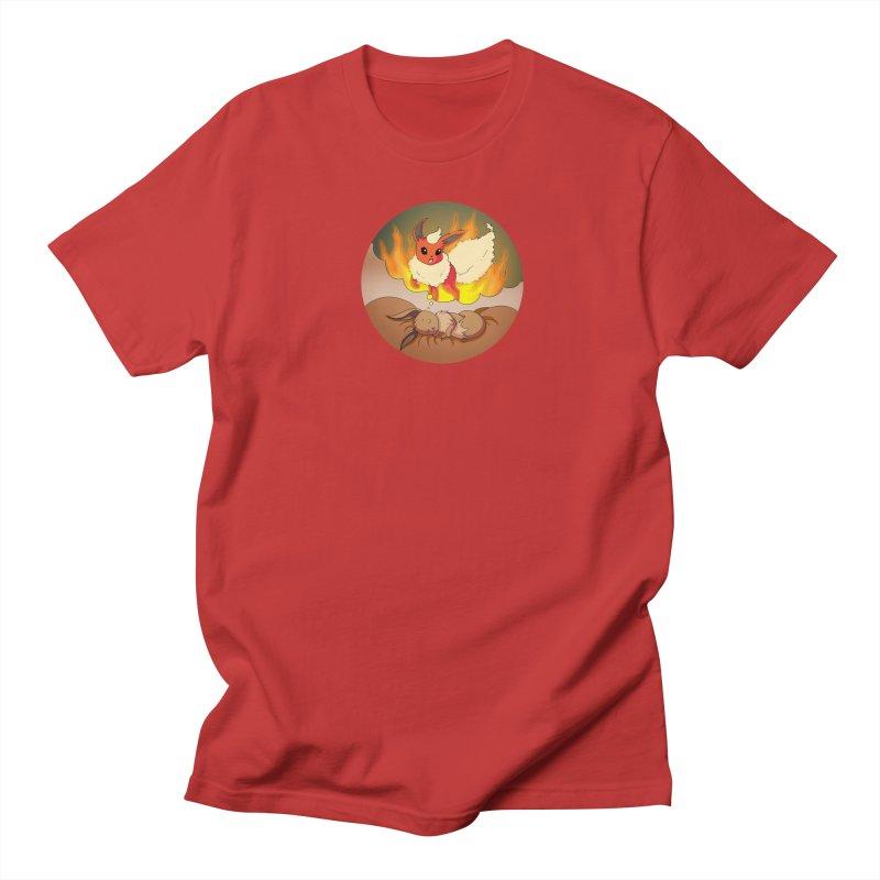 Sweet Dreams: Flareon Women's Regular Unisex T-Shirt by Night Shift Comics Shop