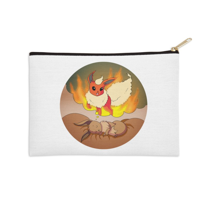 Sweet Dreams: Flareon Accessories Zip Pouch by Night Shift Comics Shop