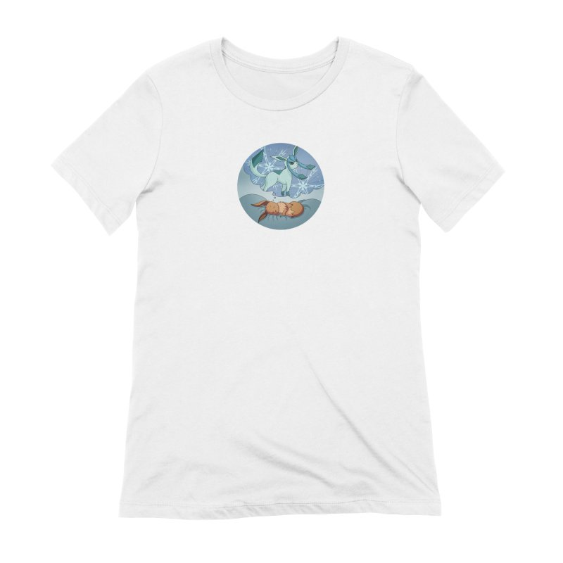 Sweet Dreams: Glaceon Women's Extra Soft T-Shirt by Night Shift Comics Shop