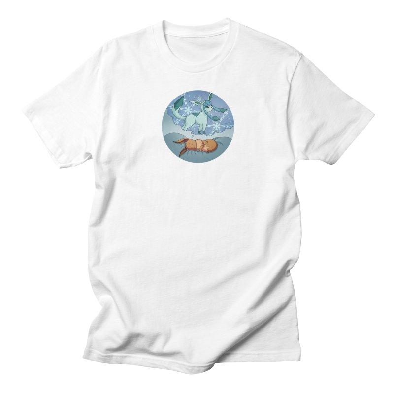 Sweet Dreams: Glaceon Men's Regular T-Shirt by Night Shift Comics Shop
