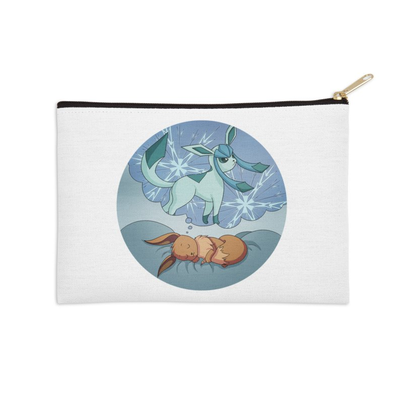 Sweet Dreams: Glaceon Accessories Zip Pouch by Night Shift Comics Shop