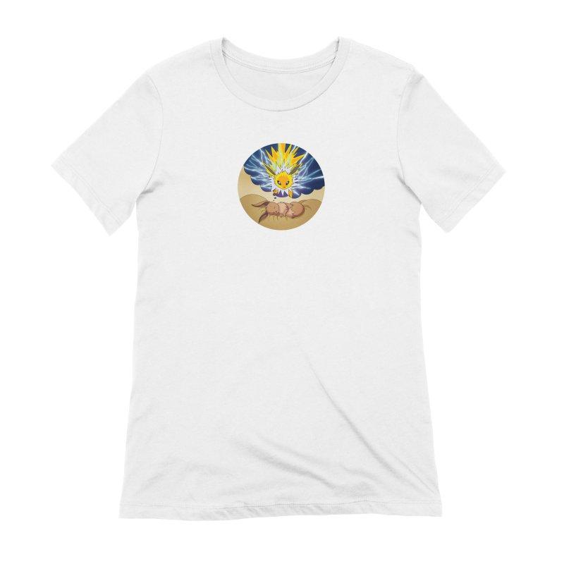 Sweet Dreams: Jolteon Women's Extra Soft T-Shirt by Night Shift Comics Shop