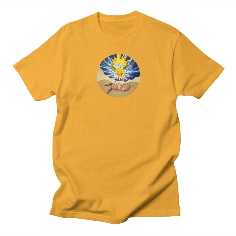 Sweet Dreams: Jolteon Men's Regular T-Shirt by Night Shift Comics Shop