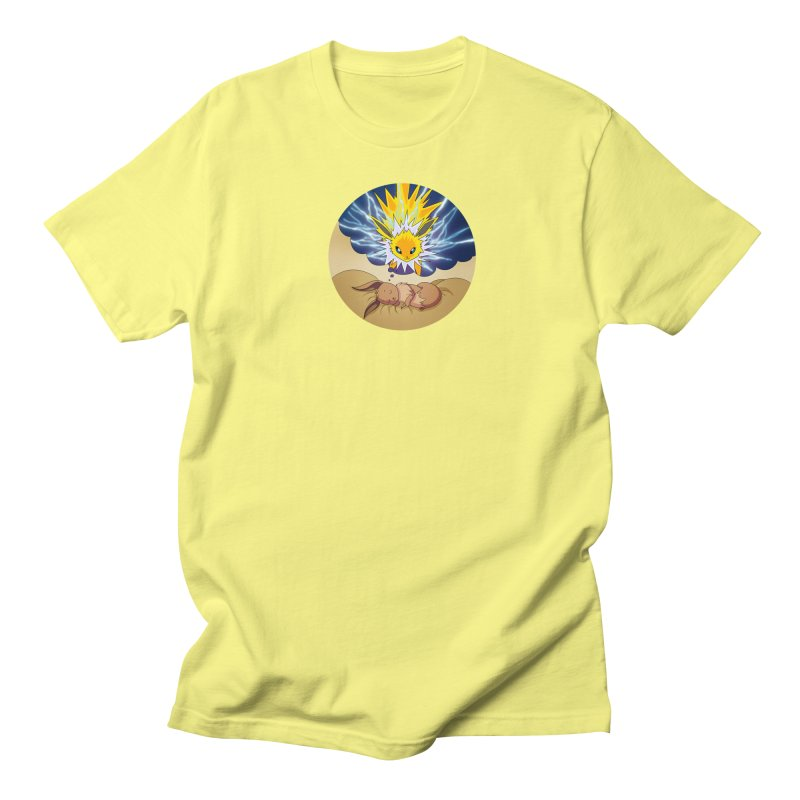 Sweet Dreams: Jolteon Men's T-Shirt by Night Shift Comics Shop