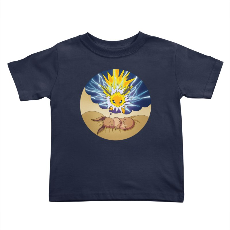 Sweet Dreams: Jolteon Kids Toddler T-Shirt by Night Shift Comics Shop