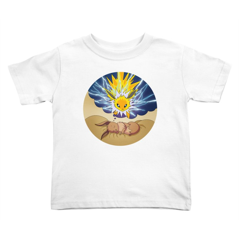 Sweet Dreams: Jolteon Kids Toddler T-Shirt by Night Shift Comics Shop