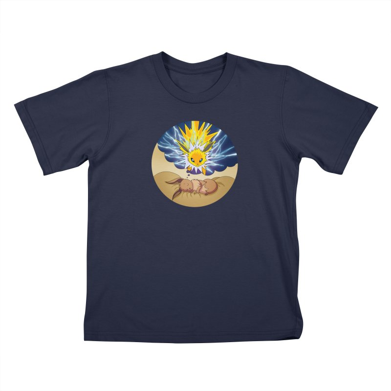 Sweet Dreams: Jolteon Kids T-Shirt by Night Shift Comics Shop