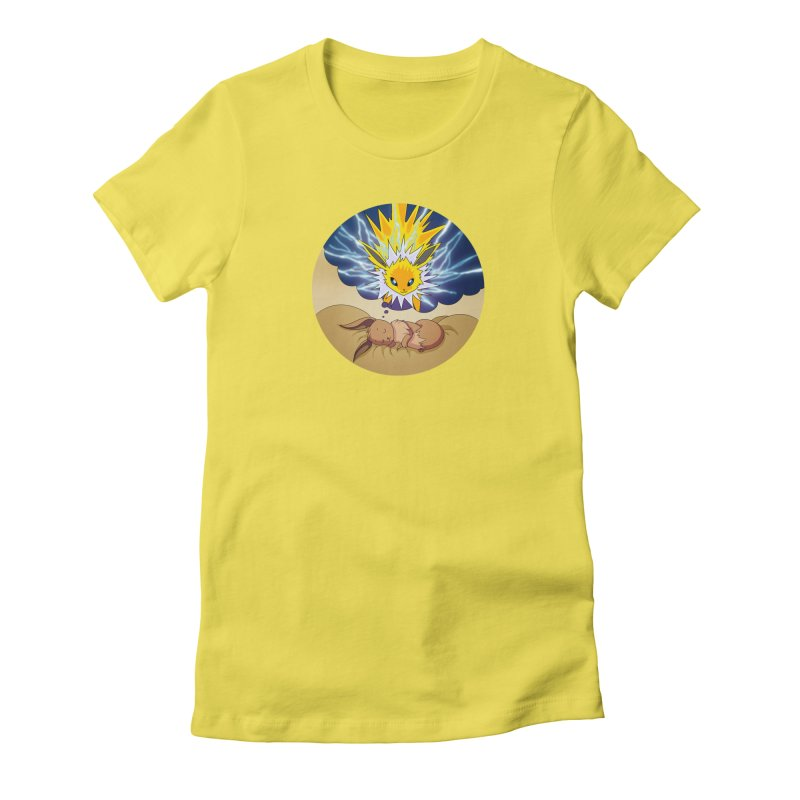 Sweet Dreams: Jolteon Women's T-Shirt by Night Shift Comics Shop