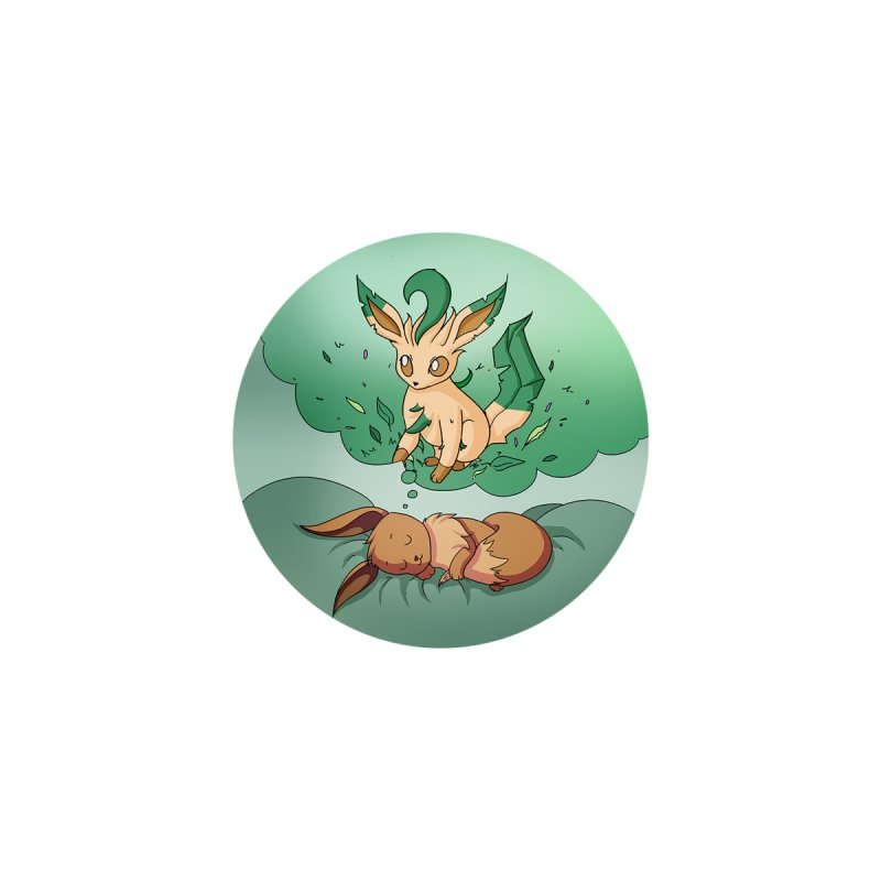 Sweet Dreams: Leafeon Accessories Zip Pouch by Night Shift Comics Shop