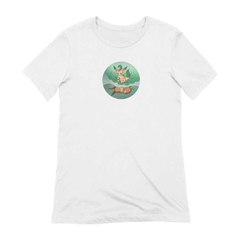 Sweet Dreams: Leafeon Women's Extra Soft T-Shirt by Night Shift Comics Shop