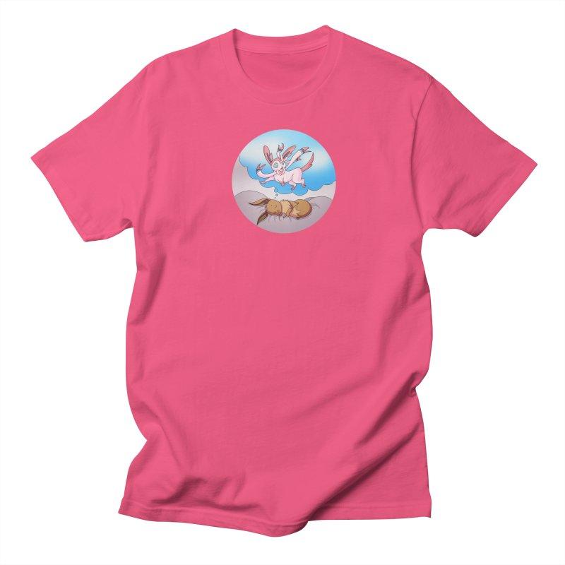 Sweet Dreams: Sylveon Men's Regular T-Shirt by Night Shift Comics Shop
