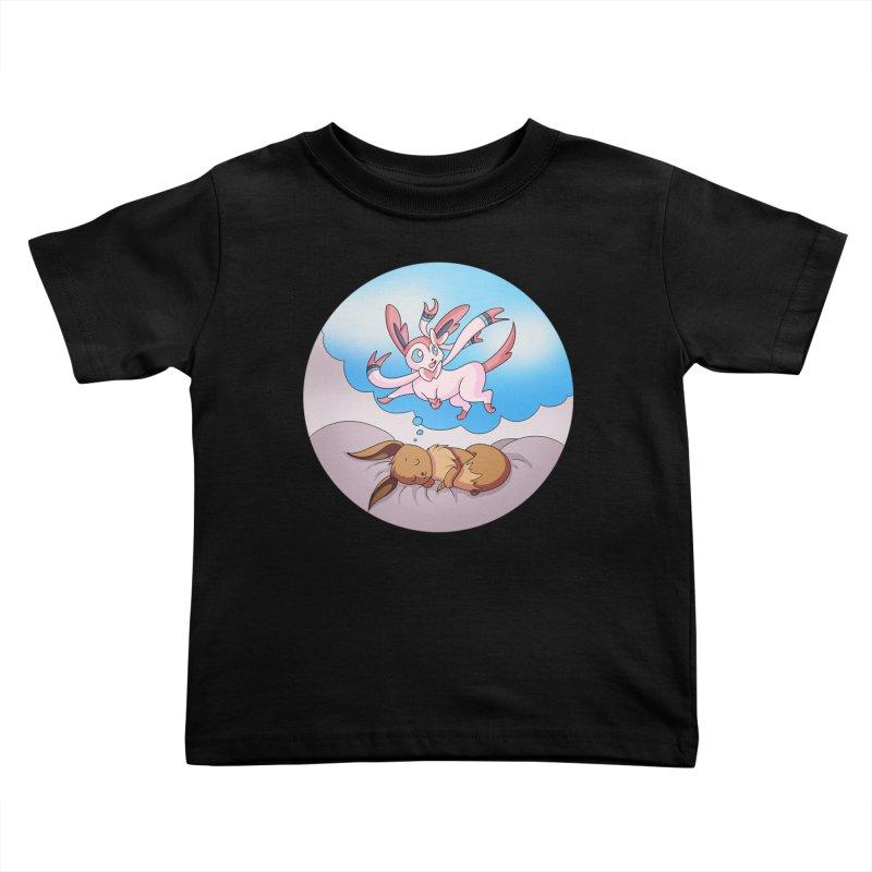 Sweet Dreams: Sylveon Kids Toddler T-Shirt by Night Shift Comics Shop