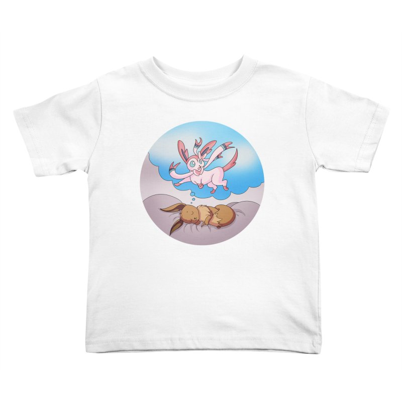 Sweet Dreams: Sylveon Kids Toddler T-Shirt by Night Shift Comics Shop