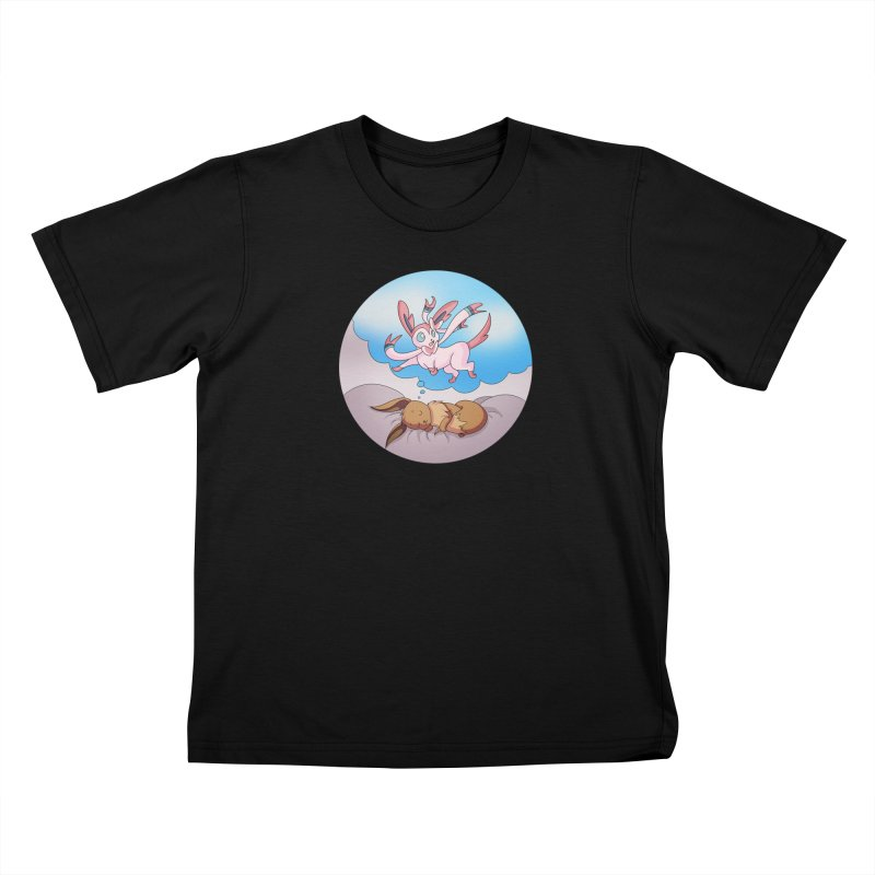 Sweet Dreams: Sylveon Kids T-Shirt by Night Shift Comics Shop