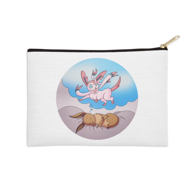 Sweet Dreams: Sylveon Accessories Zip Pouch by Night Shift Comics Shop