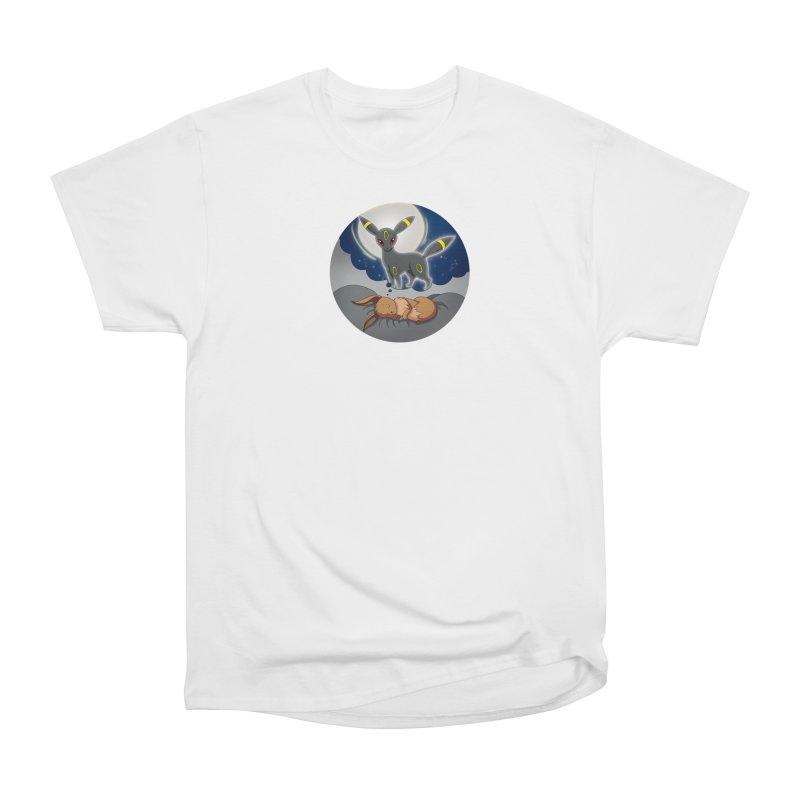 Sweet Dreams: Umbreon Men's Heavyweight T-Shirt by Night Shift Comics Shop