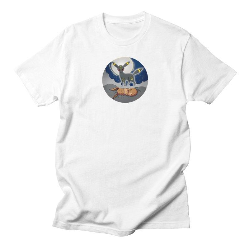Sweet Dreams: Umbreon Men's Regular T-Shirt by Night Shift Comics Shop