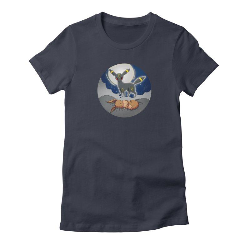 Sweet Dreams: Umbreon Women's T-Shirt by Night Shift Comics Shop