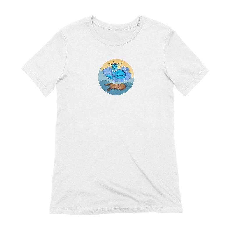 Sweet Dreams: Vaporeon Women's Extra Soft T-Shirt by Night Shift Comics Shop