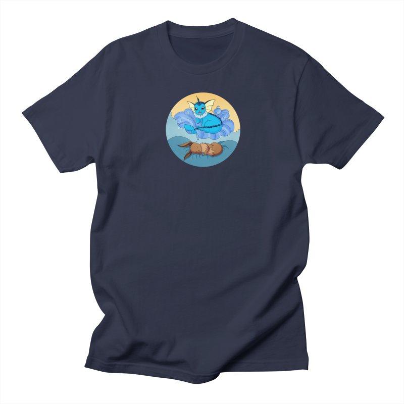Sweet Dreams: Vaporeon Women's Regular Unisex T-Shirt by Night Shift Comics Shop