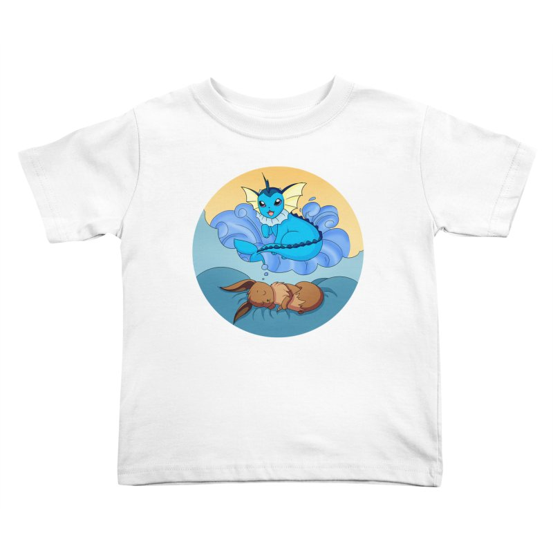 Sweet Dreams: Vaporeon Kids Toddler T-Shirt by Night Shift Comics Shop