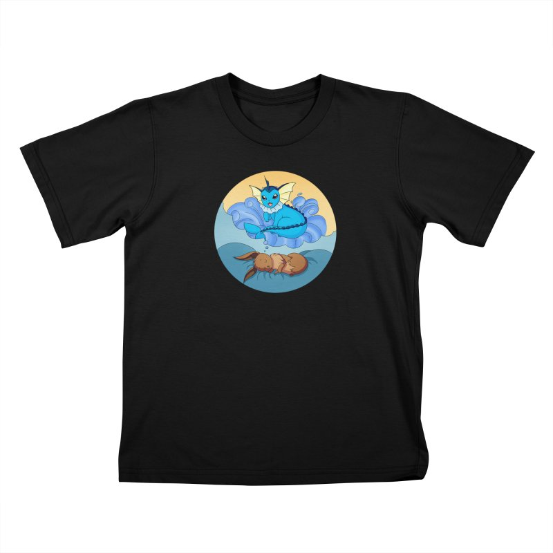 Sweet Dreams: Vaporeon Kids T-Shirt by Night Shift Comics Shop