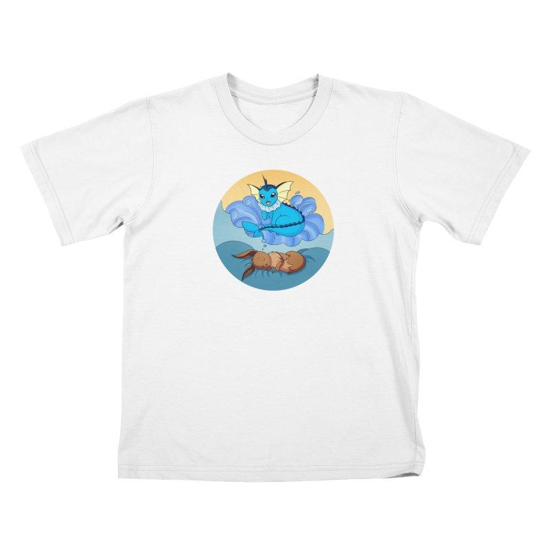 Sweet Dreams: Vaporeon Kids T-Shirt by Night Shift Comics Shop