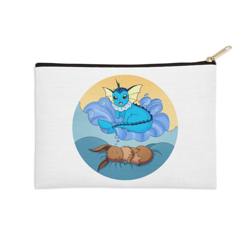 Sweet Dreams: Vaporeon Accessories Zip Pouch by Night Shift Comics Shop