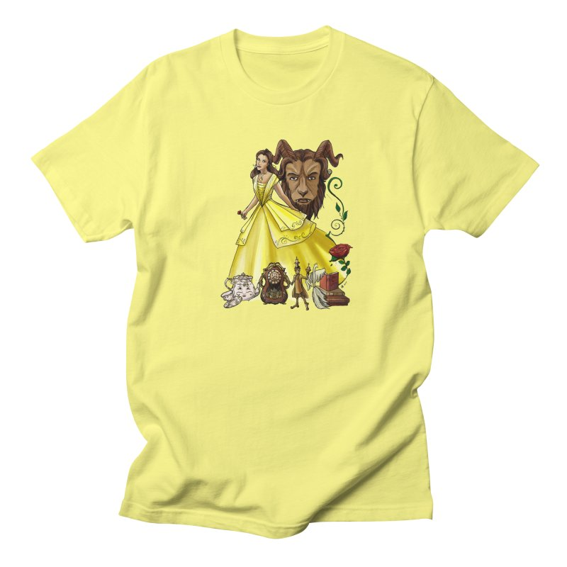 Belle and the Beast Women's T-Shirt by Night Shift Comics Shop