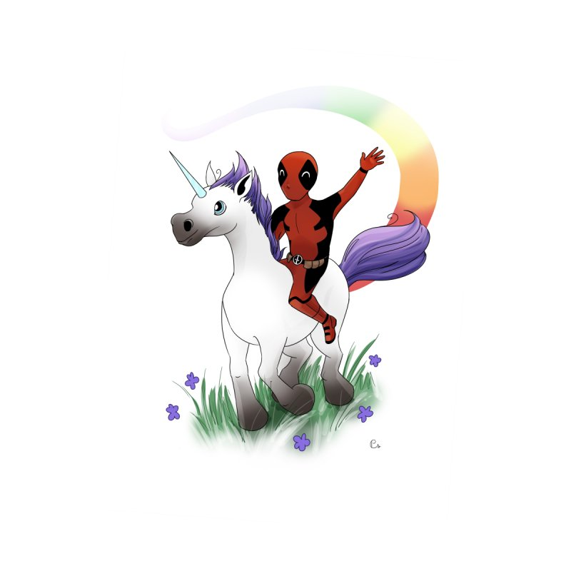 Deadpool - Unicorn Men's T-Shirt by Night Shift Comics Shop