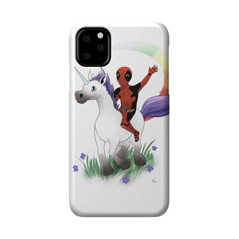 Deadpool - Unicorn Accessories Phone Case by Night Shift Comics Shop