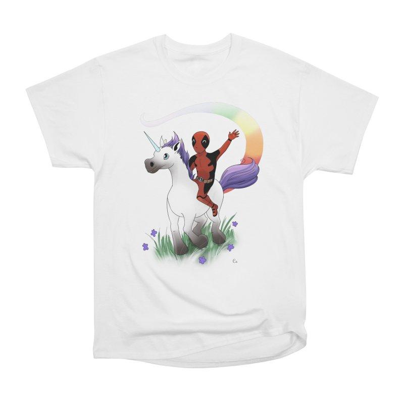 Deadpool - Unicorn Men's T-Shirt by Night Shift Comics Shop