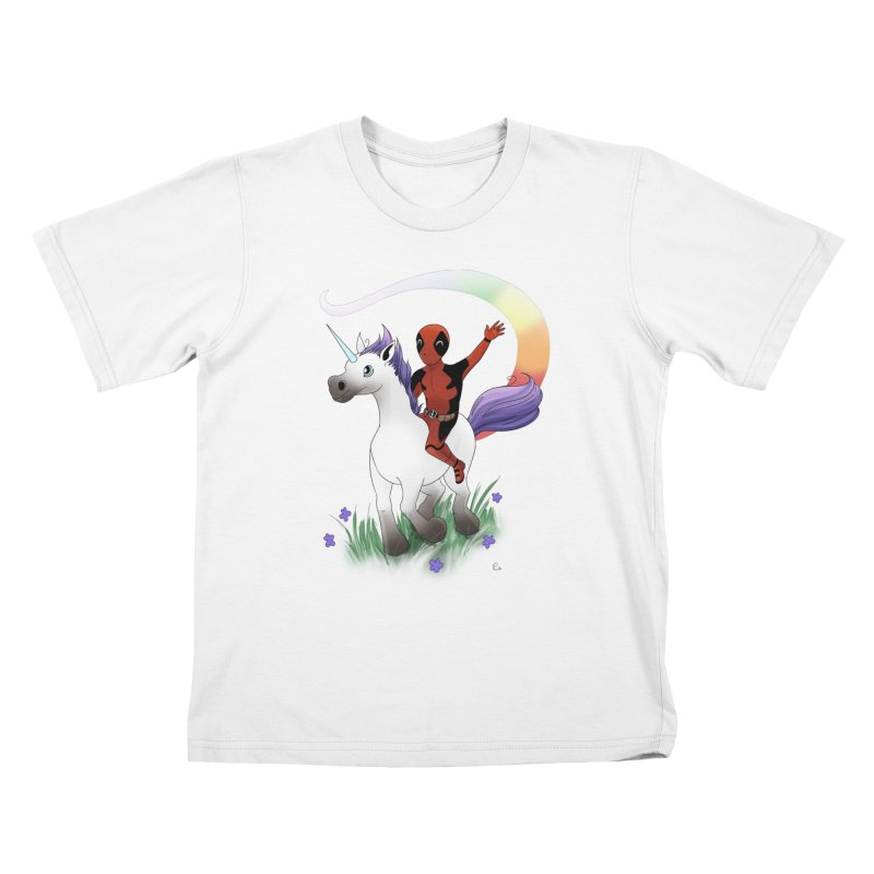 Deadpool - Unicorn Kids T-Shirt by Night Shift Comics Shop