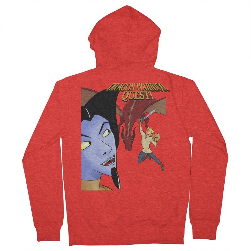 Dragon Warrior Quest! Men's Zip-Up Hoody by Night Shift Comics Shop