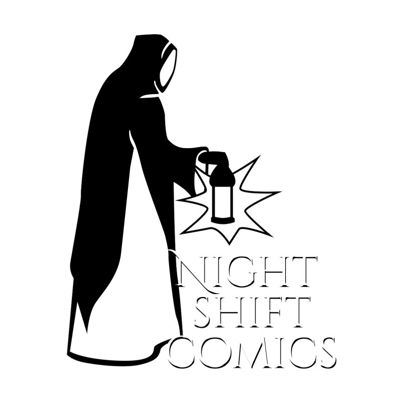 Night Shift Comics Logo Men's T-Shirt by Night Shift Comics Shop